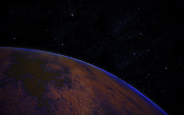 обоя pluto, космос, плутон, планета, поверхность, грунт, снимок, фотография, атмосфера