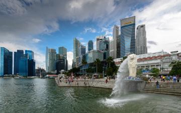 обоя singapore, города, сингапур , сингапур, азия, столица