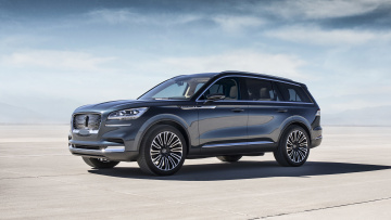 обоя lincoln aviator concept 2018, автомобили, lincoln, concept, aviator, 2018