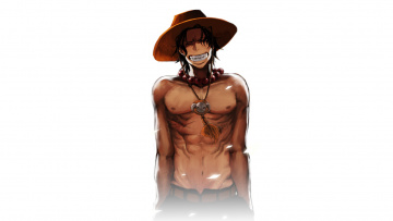 Картинка аниме one piece portgas d ace