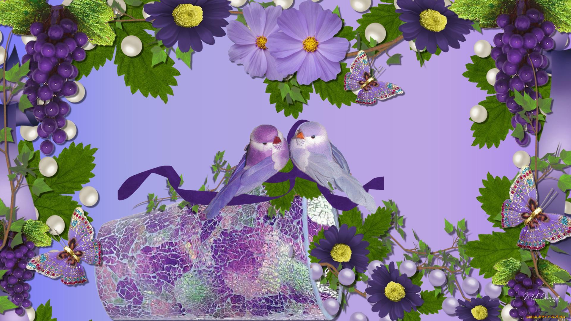 Фон для открытки птицы, аист младенцем открытка