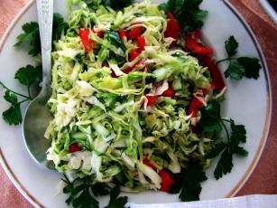 обоя еда, салаты,  закуски, петрушка, салат, овощной