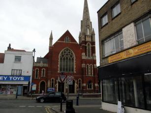 обоя gravesend methodist church, uk, города, - католические соборы,  костелы,  аббатства, gravesend, methodist, church