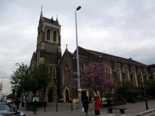 обоя st john`s catholic church, gravesend, kent, uk, города, - католические соборы,  костелы,  аббатства, st, john's, catholic, church