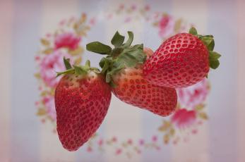 обоя еда, клубника,  земляника, ягоды