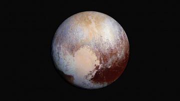 обоя космос, плутон, планета, солнечной, системы