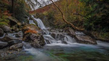 обоя природа, водопады, простор
