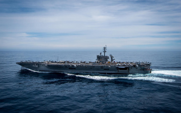 обоя корабли, авианосцы,  вертолётоносцы, корабль, море