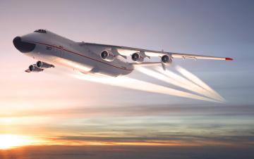 Картинка ан 225 мрия авиация 3д рисованые graphic ссср самолет транспортный тяжелый