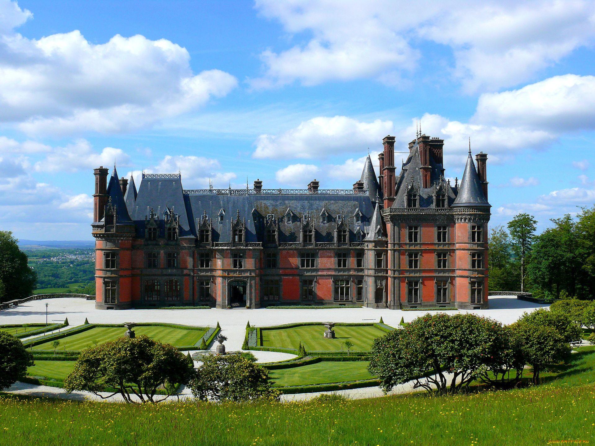 Замок лужайка памятник бесплатно