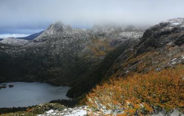 Картинка tasmania australia природа реки озера горы озеро