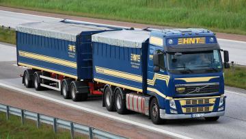 Картинка автомобили volvo+trucks тягач седельный грузовик тяжелый
