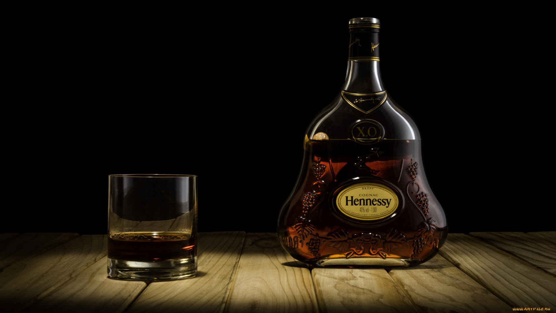 Бутылка Hennessy подборки