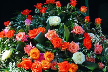 обоя цветы, букеты,  композиции, розы, букет