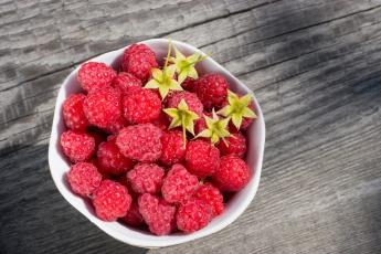 обоя еда, фрукты,  ягоды, малина