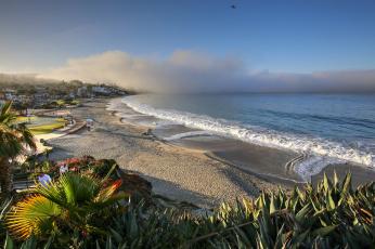 обоя laguna beach,  california, города, - пейзажи, побережье