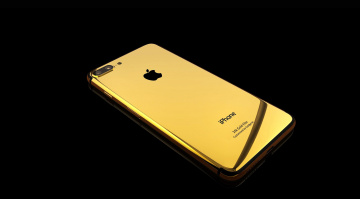обоя бренды, iphone, 24k, gold, elite, 7, smartphone, apple