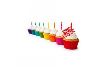 обоя праздничные, день рождения, свечи