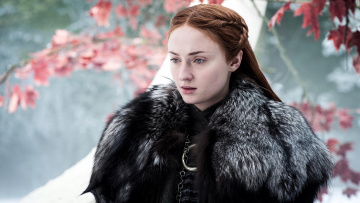обоя кино фильмы, game of thrones , сериал, sophie, turner, sansa, stark