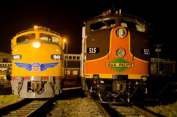 Картинка техника локомотивы железная дорога рельсы локомотив