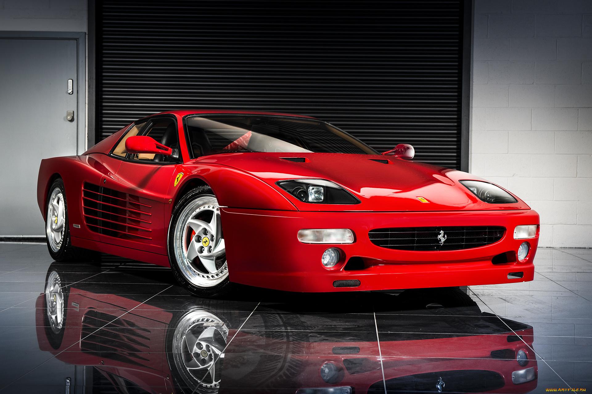 красный автомобиль Ferrari F50 Enzo загрузить