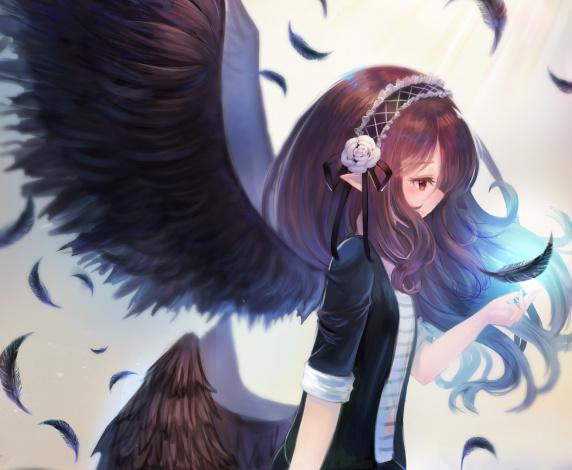Overwatch обои ангел 5
