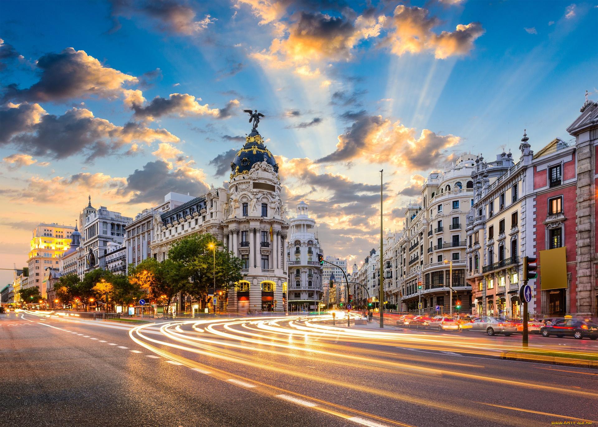 Открытки красивых городов