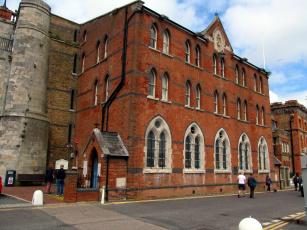 обоя sailor`s church, ramsgate, kent, uk, города, - католические соборы,  костелы,  аббатства, sailor's, church