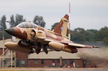 обоя mirage 2000, авиация, боевые самолёты, истребитель