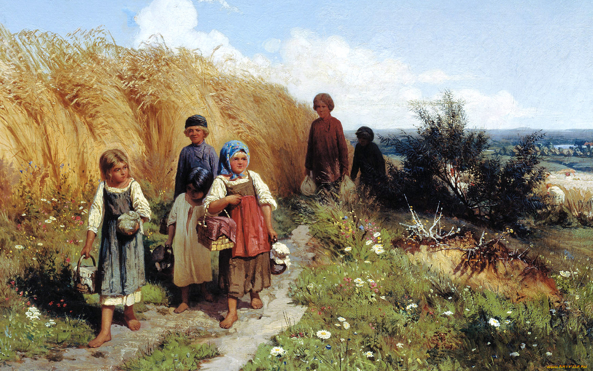 Приколы, картинки крестьянские дети