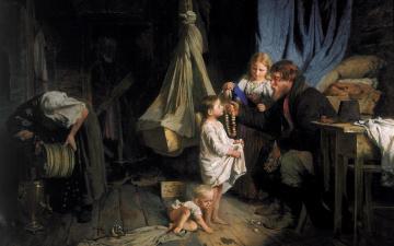 Картинка рисованное алексей+корзухин семья