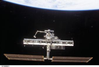 Картинка космос космические корабли станции мкс мир
