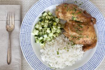 Картинка еда вторые блюда рис курица