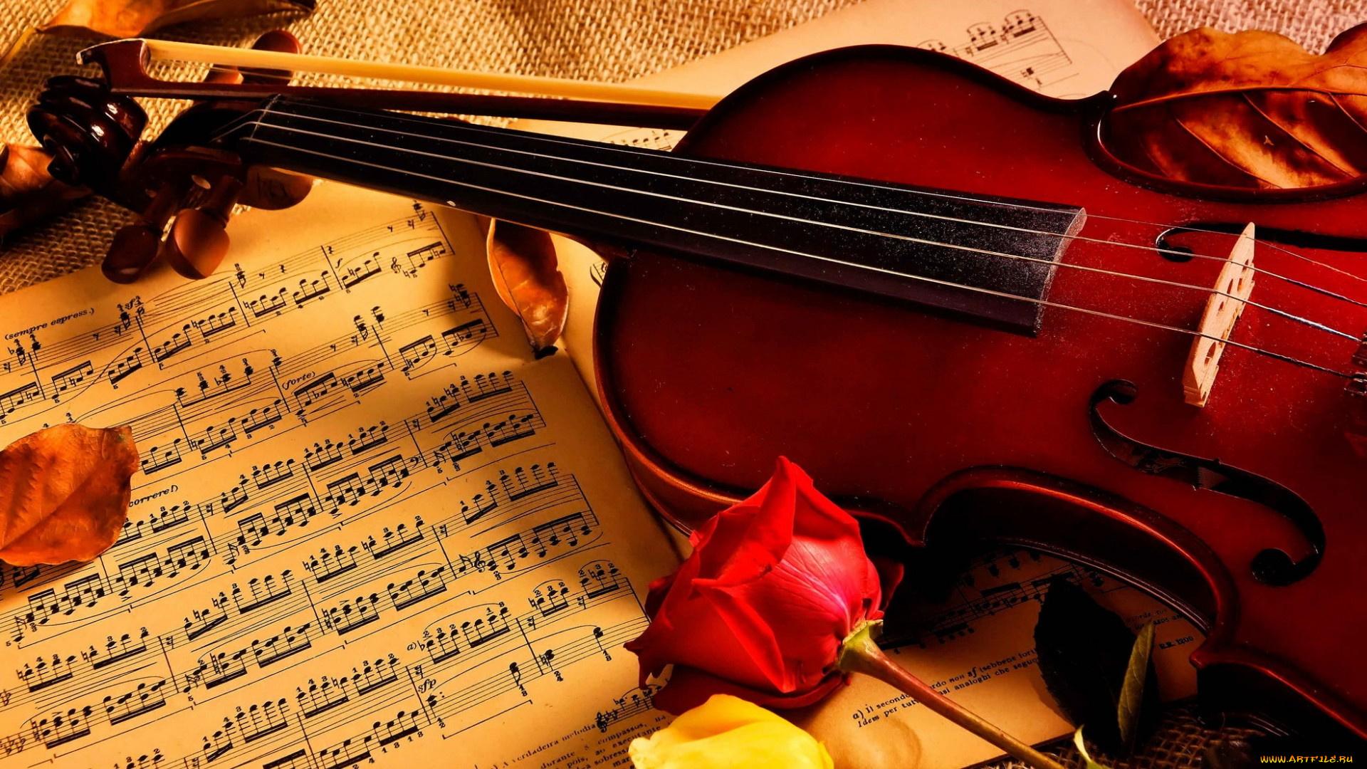 Рисунки для, открытки музыкальная тема