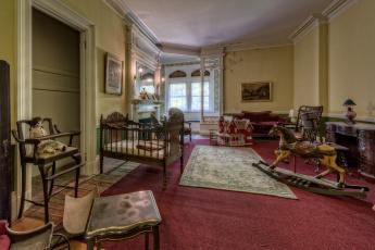 обоя интерьер, детская комната, мебель, комната