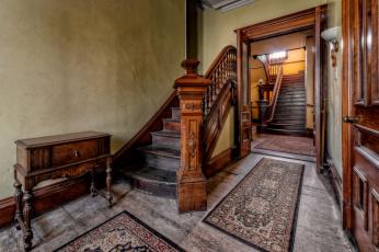 обоя интерьер, холлы,  лестницы,  корридоры, лестница, прихожая