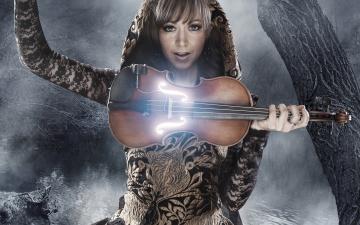 Картинка музыка lindsey+stirling lindsey stirling линдсей стирлинг ночь скрипка violin