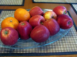 обоя еда, фрукты,  ягоды, яблоки, апельсины
