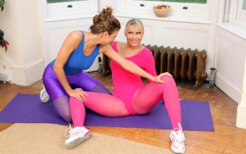 Картинка спорт фитнес девушка