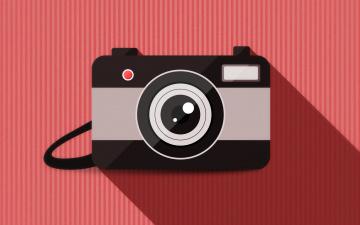 обоя векторная графика, техника , equipment, объектив, фон, камера