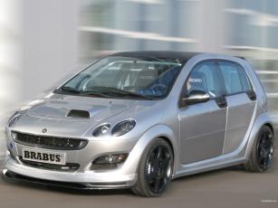 Картинка smart forfour brabus concept автомобили