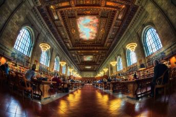 Картинка интерьер кабинет библиотека офис книги роспись читальный зал