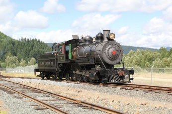 Картинка техника паровозы паровоз дорога железная