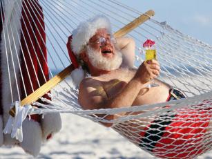 Картинка праздничные дед мороз