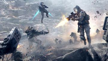 Картинка titanfall видео+игры бой