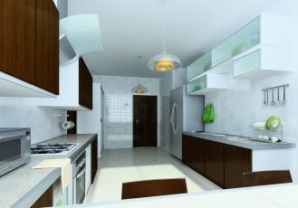Картинка 3д+графика реализм+ realism кухня