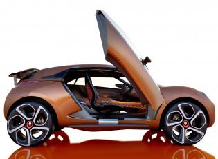 Картинка renault+captur+concept+2011 автомобили renault captur concept 2011