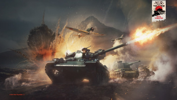 обоя видео игры, war thunder,  world of planes, war, thunder, world, of, planes, симулятор, action, онлайн
