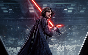 обоя кино фильмы, star wars,  the last jedi, star, wars, kylo, ren, adam, driver, the, last, jedi