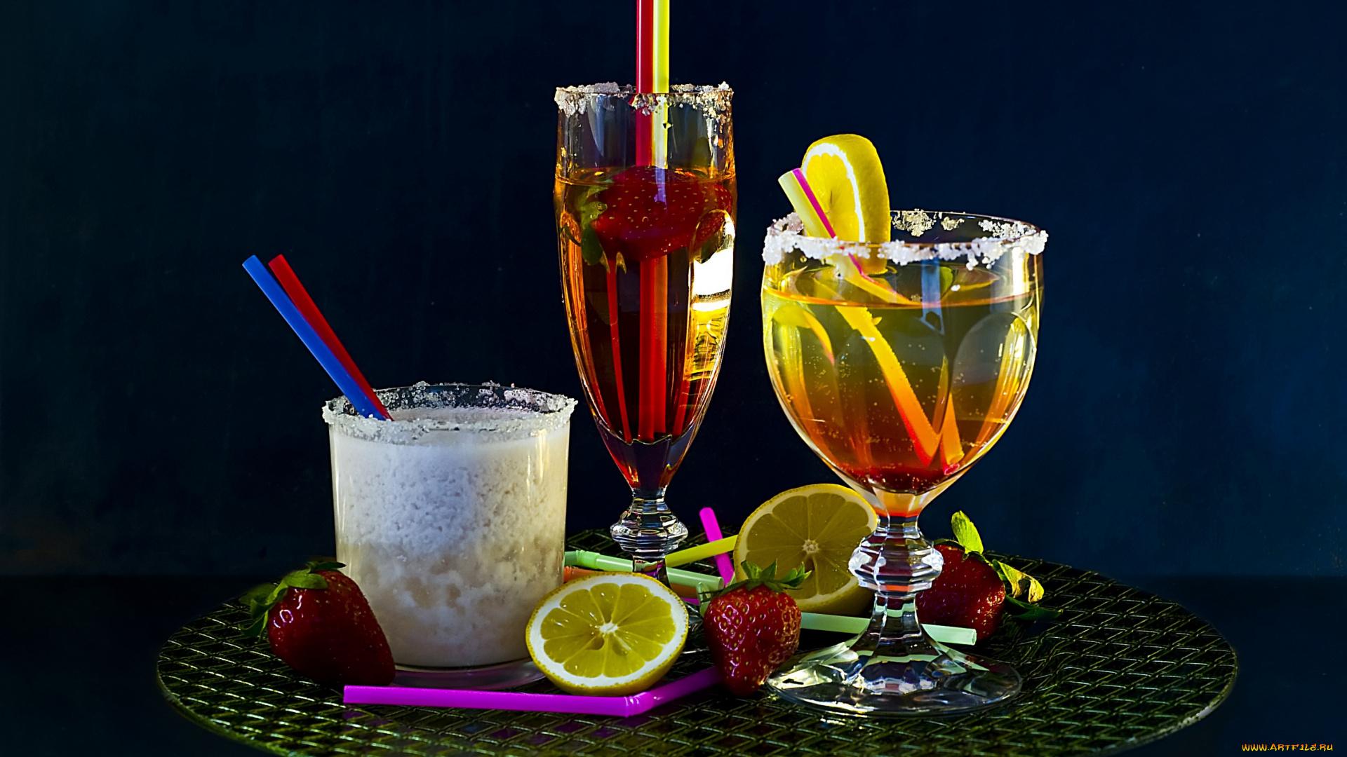 Открытка напитки